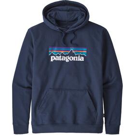 Patagonia P-6 Logo Uprisal warstwa środkowa Mężczyźni niebieski